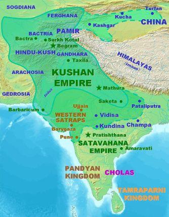 KushanEmpireMap