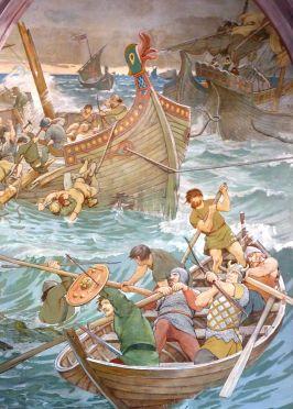 Battle_of_Largs_(Viking_ships_detail),_1263