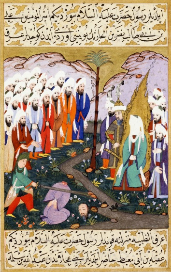 Ali_Beheading_Nadr_ibn_al-Harith_in_the_Presence_of_the_Prophet_Muhammad._Miniature_from_volume_4_of_a_copy_of_Mustafa_al-Darir's_Siyar-i.jpg