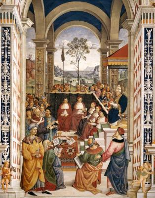 Pinturicchio_-_No._8_-_Pope_Pius_II_at_the_Congress_of_Mantua_-_WGA17804